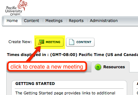 AC Create Meeting 1